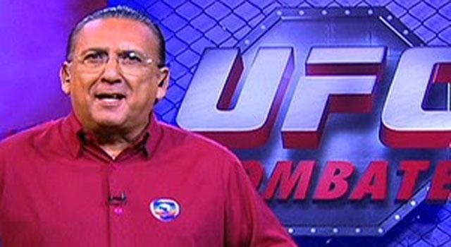 Galvao narrando UFC