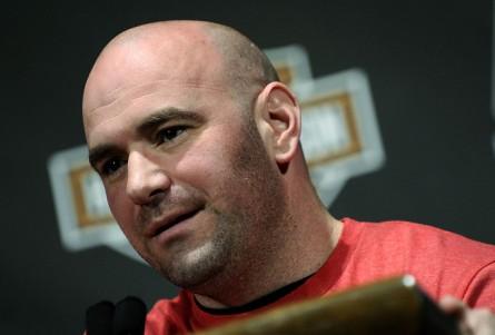 Dana White (foto) não poupou Toquinho e criticou duramente o ex-atleta do UFC. Foto: Josh Hedges