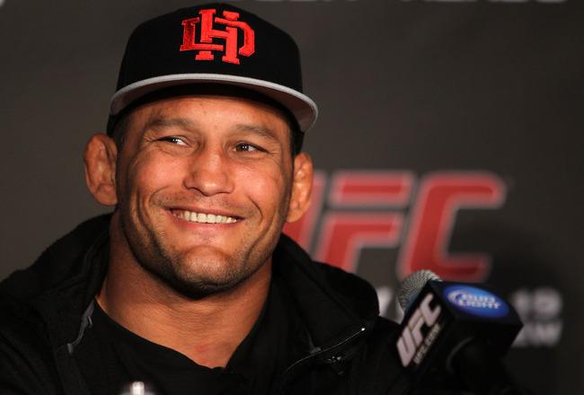 Henderson (foto) enfrentará Belfort em São Paulo. Foto: Divulgaçao/UFC