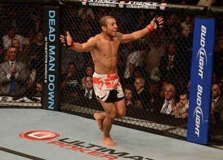 J.Aldo (foto) venceu o Zumbi Coreano na luta principal do UFC Rio 4. Foto: Josh Hedges/UFC