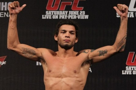 Miltinho (foto), Pedro Nobre e Diego Nunes são dispensados pelo UFC. Foto: Josh Hedges