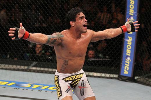 T. Tavares (foto) enfrentaria J. Salas em Jaraguá. Foto: Josh Hedges/UFC