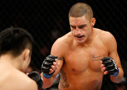 Sanchez (foto) enfrentará Parke no México. Foto: Josh Hedges/UFC