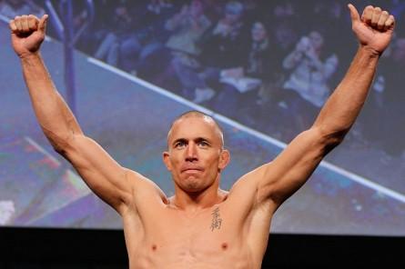 Técnico crê que GSP (foto) retornará ao octógono. Foto: Josh Hedges/UFC