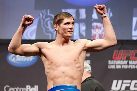 J. Mein é o novo adversário de Matt Brown no UFC on FOX 7. Foto: Josh Hedges/UFC