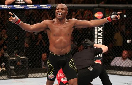 Anderson Silva deve fazer mais dez lutas pelo UFC. Foto: Josh Hedges/UFC