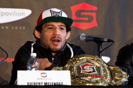 G. Melendez faz sua estreia no UFC disputando o cinturão dos leves. Foto: Divulgação/UFC