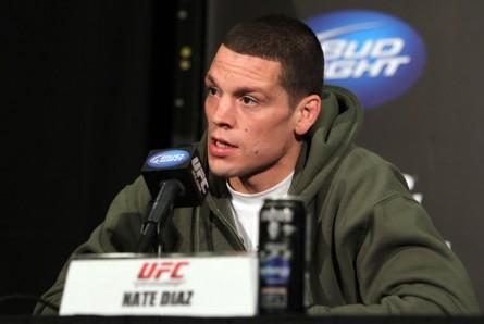 Nate Diaz mudou de empresário em meio a preparação para sua próxima luta. Foto: Josh Hedges/UFC
