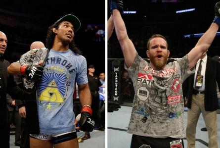 Henderson (esq.) e Grant (dir.) devem se enfrentar em agosto. Foto: Produção MMA Press (Divulgação/UFC)