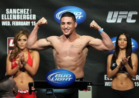 Diego Sanchez é o único atleta já confirmado para o UFC 164. Foto: Josh Hedges/UFC