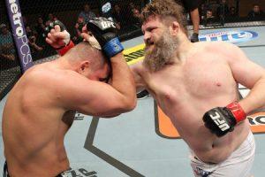 Nelson vs Miocic completa card do UFC 161