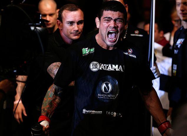 Antônio Braga Neto fez duas lutas pelo UFC, com uma vitória e uma derrota. Foto: Divulgação