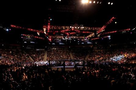 Expansão do UFC pelo Velho Continente deve se intensificar no próximo ano. Foto: Josh Hedges/UFC