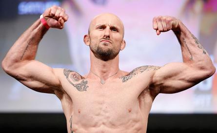 B. McDaniel (foto) está invicto desde abril de 2010. Foto: Josh Hedges/UFC