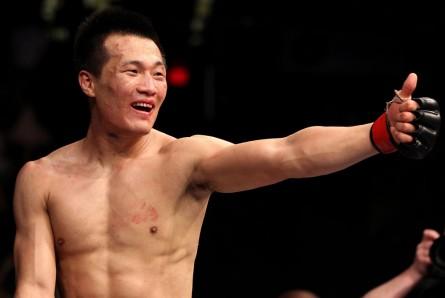 J. Chang-Sung (foto) substitui A. Pettis contra J. Aldo no UFC Rio 4. Foto: Josh Hedges/UFC