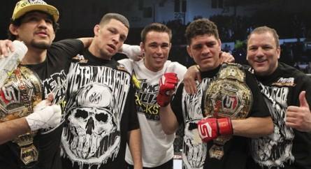 Os pupilos de Cesar Gracie são os lutadores favoritos de Royce. Foto: Esther Lin/Strikeforce