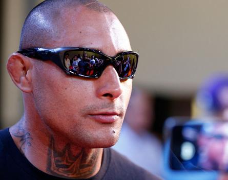 T. Silva (foto) disse que aceita o desafio de Pezão, mas entre os meio-pesados. Foto: Josh Hedges/UFC