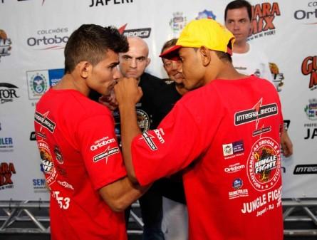 Arinaldo Silva disputa o cinturão dos moscas no Jungle Fight 53