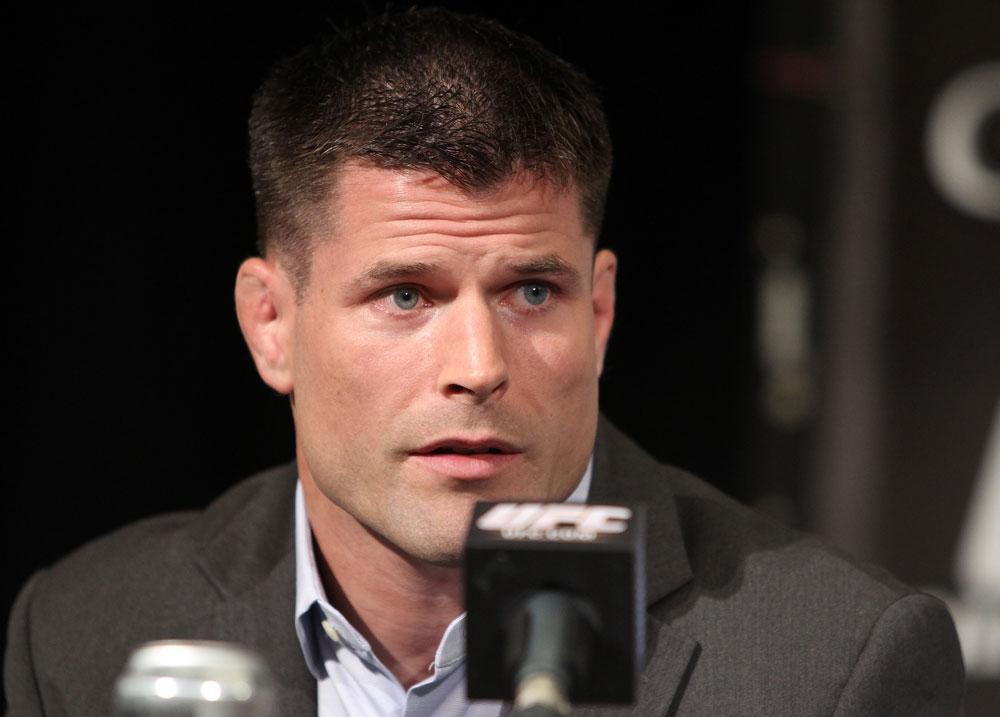 B. Stann (foto) estreia como comentarista oficial do UFC no Rio. Foto: Josh Hedges/UFC