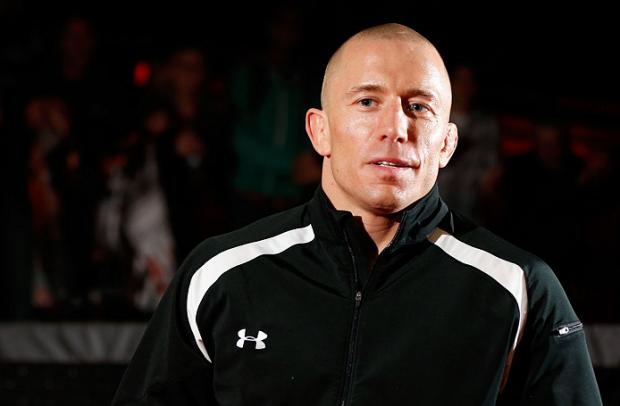 GSP (foto) se afastou do esporte após a vitória sobre J. Hendricks no fim de 2013. Foto: Josh Hedges/UFC