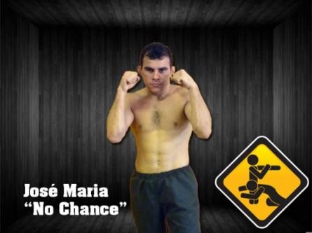 """José Maria Tomé, o """"Sem Chance"""", fará sua estreia no UFC após completar cinco anos de invencibilidade. Foto: Divulgação/RFT"""