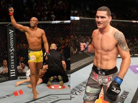 Estrelas apostam em vitória de Weidman sobre Anderson na luta principal do UFC 162