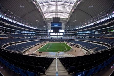 Cowboys Stadium foi palco do Super Bowl XLV, em 2011. Foto: Dallas Cowboys/Divulgação