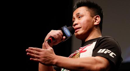 Depois de protagonizar a luta principal do primeiro UFC na China, C. Le deve ser um dos treinadores do TUF naquela país. Foto: UFC.com