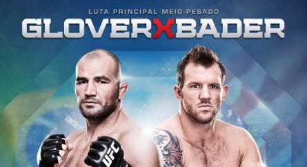 Divulgado o pôster oficial do UFC No Combate 3: Glover vs Bader