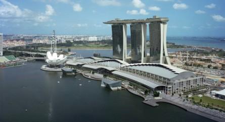 O suntuoso Marina Bay Sands, em Cingapura, vai sediar um evento do UFC no começo de 2014