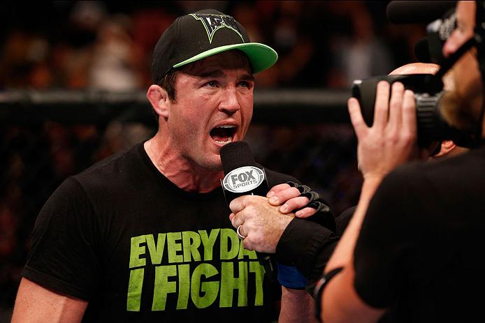 C. Sonnen. Foto: Josh Hedges/UFC