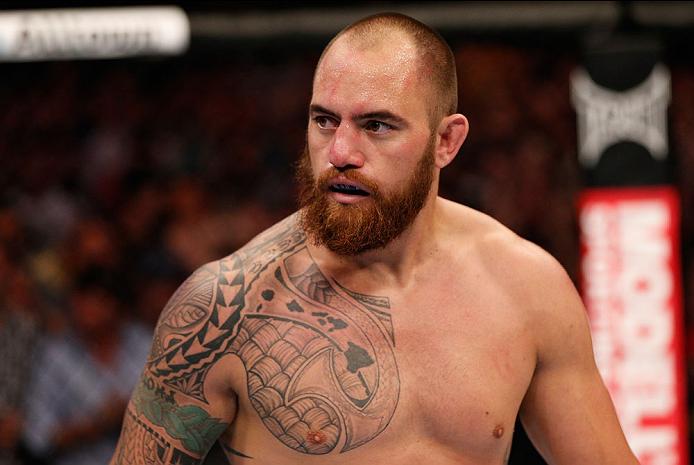 T.Browne (foto) enfrentou dois brasileiros, Pezão e Napão, recentemente. Foto: Josh Hedges/UFC