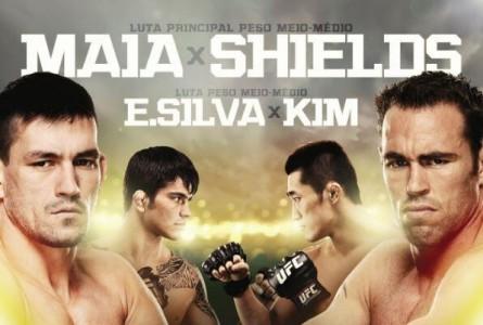 Lutas principal e co-principal da noite ganharam destaque no cartaz do UFC Fight Night 29. Foto: UFC/Divulgação