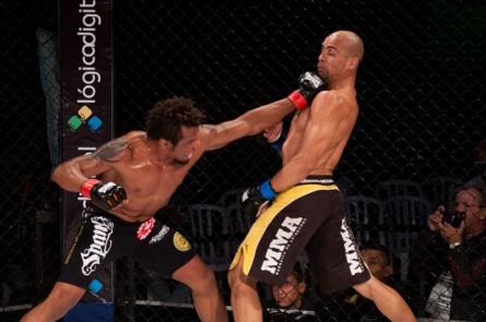 Babuíno (foto) venceu argentino no Circuito Talent de MMA. Foto: Divulgação