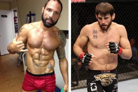 M. Grilo (esq.) encara J. Fitch (dir.) em outubro. Foto: Produção MMA Press (Facebook/Divulgação)