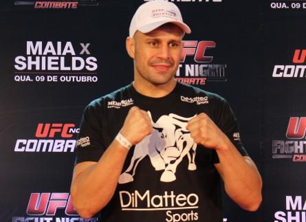 F. Maldonado estuda mudança para a equipe de Demian Maia. Foto: Lucas Carrano/Super Lutas