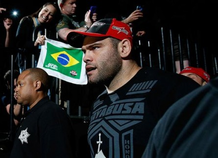 G. Napão (foto) promete vitória por nocaute no UFC 166. Foto: Divulgação
