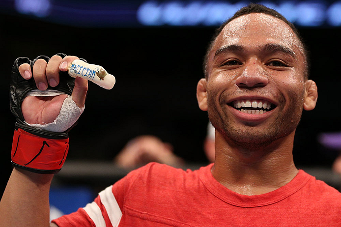 J. Dodson (foto) já venceu Dillashaw. Foto: Josh Hedges/UFC