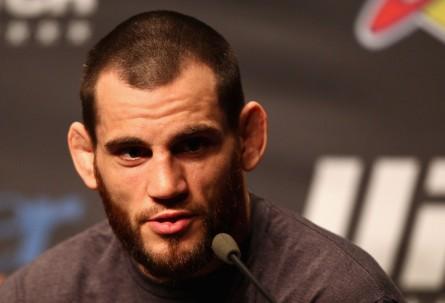 J. Fitch (foto) criticou duramente o brasileiro Rousimar Palhares. Foto: Josh Hedges/UFC