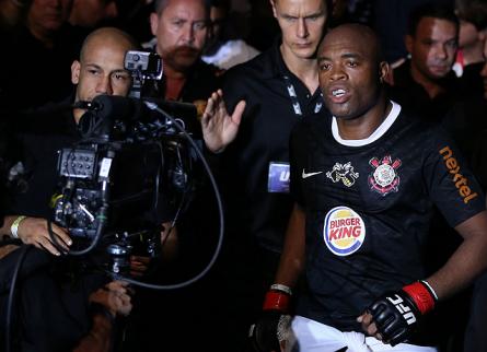 Anderson volta a ser atleta do Corinthians. Foto: Josh Hedges/UFC