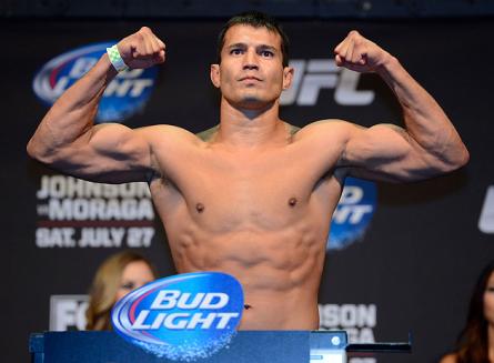 B. Voelker (foto) não crê que Patolino tenha qualquer chance contra ele. Foto: Josh Hedges/UFC