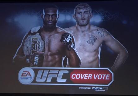 Jones e Gustafsson aparecerão na capa do jogo do UFC. Foto: Reprodução/YouTube