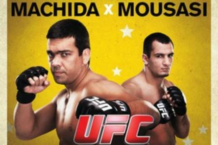 L.Machida e G. Mousasi fazem a luta principal do UFC Fight Night 36. Foto: Divulgação/UFC