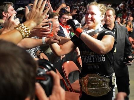 Ronda Rousey cinturão