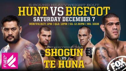 Pôster australiano do UFC Fight Night 33 destaca lutas principais da noite. Foto: UFC/Divulgação