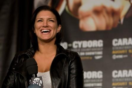 Carano (foto) está a poucos detalhes de se tornar atleta do UFC. Foto: Divulgação/Strikeforce