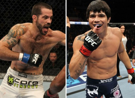 Brown Erick 445x323 Erick Silva encara Matt Brown em luta principal do UFC Fight Night em Cincinnati