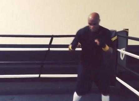 Anderson (foto) já faz movimentação ágil em treinamento. Foto: Reprodução/Instagram