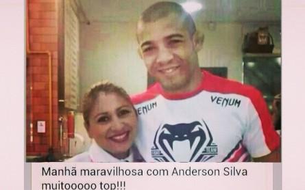 A foto mostra Aldo, mas a legenda diz Anderson. Foto: Instagram/Reprodução