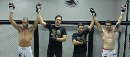 Double Fighting será a primeira disputa de MMA em duplas do Mundo. Foto: Reprodução/YouTube